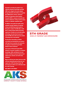 2019-20 5th Grade Parent AKS Brochure
