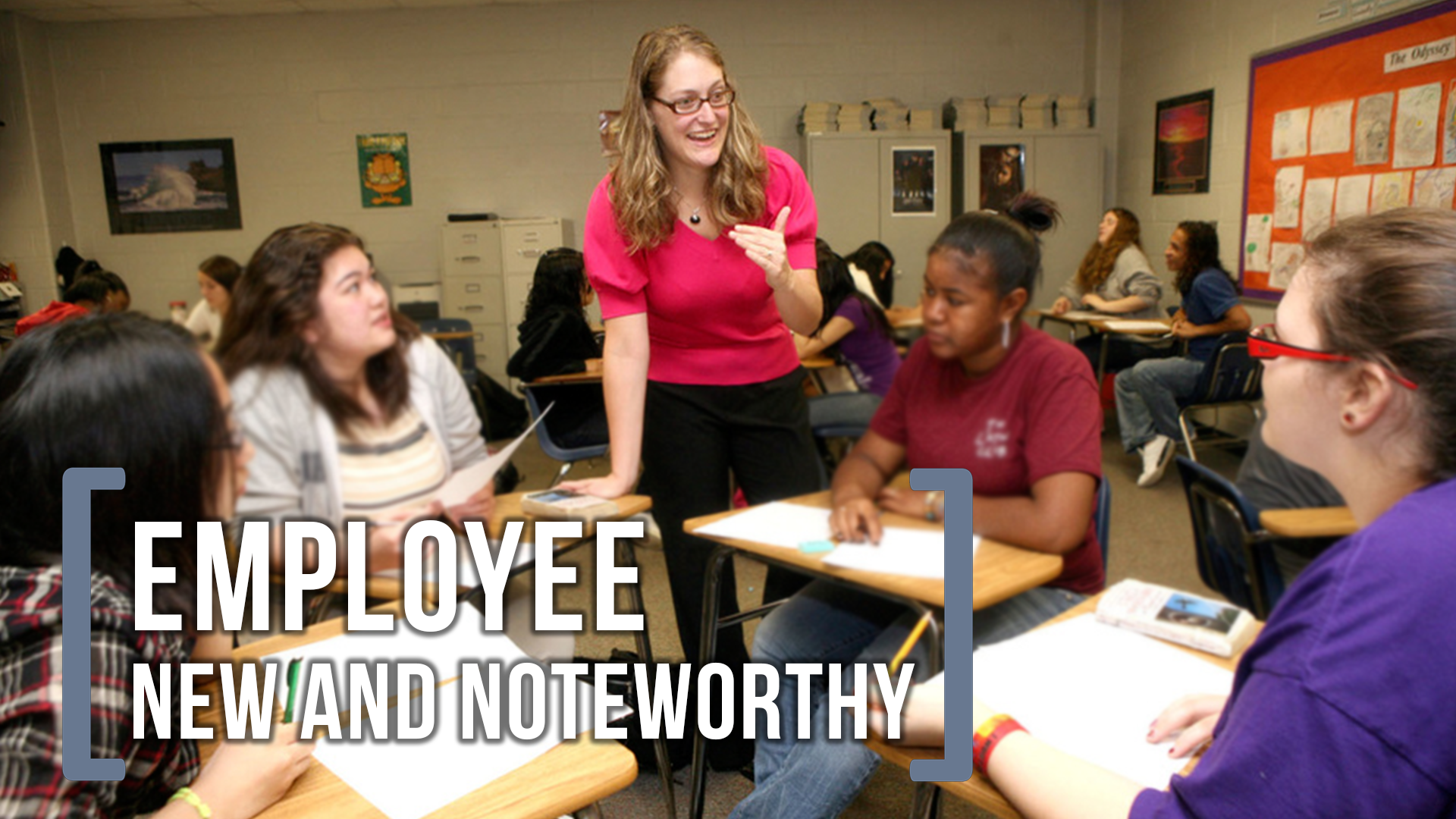 Learn what's new and noteworthy for GCPS Employees.