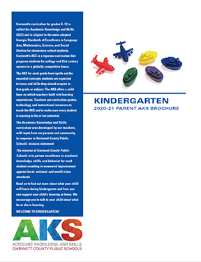 My E Clas >> K-5 Parent AKS Brochures | GCPS