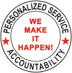 Personalized Service Accountability - We make it happen! logo