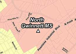 Middle District Of Georgia Map.North Gwinnett Middle School Gcps