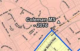 Middle District Of Georgia Map.Coleman Middle School Gcps